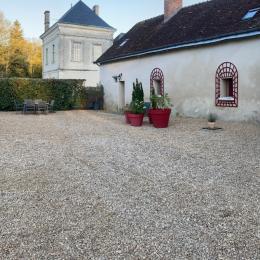 Extérieurs - Location de vacances - Villeloin-Coulangé