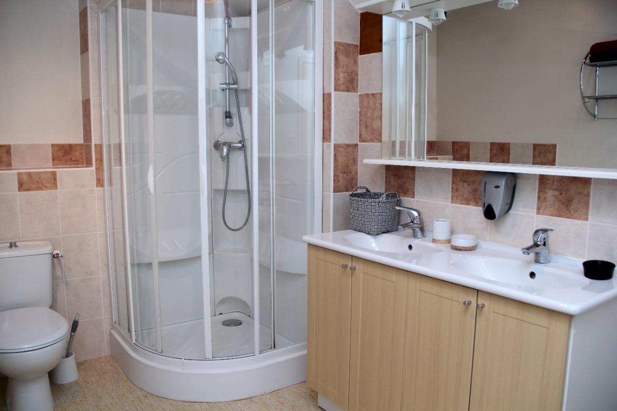 Salle de bain - Chambre d'hôte - Panissage