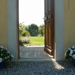 L'entrée de la Figualière - Chambre d'hôtes - La Murette
