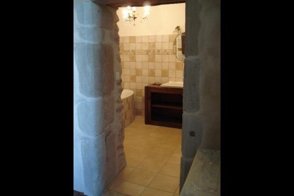 SDB (baignoire) et WC indépendant - Chambre d'hôtes - Auberives-en-Royans