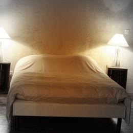 lit 140x190 - Chambre d'hôtes - Auberives-en-Royans