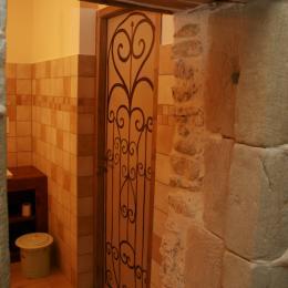 porte des WC  - Chambre d'hôtes - Auberives-en-Royans