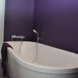Baignoire ilot - Chambre d'hôtes - La Buisse