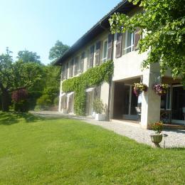 Maison et jardin - Chambre d'hôtes - La Buisse