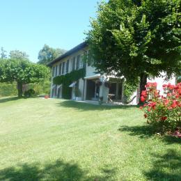 Maison avec jardin - Chambre d'hôte - La Buisse