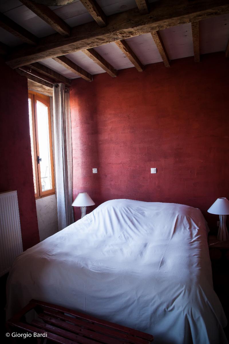 lit 2x80 - Chambre d'hôtes - Auberives-en-Royans