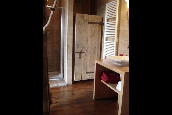 SDB (douche) WC indépendant  - Chambre d'hôtes - Auberives-en-Royans