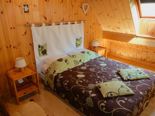 Chambre du petit roux à Venosc - Location de vacances - Vénosc