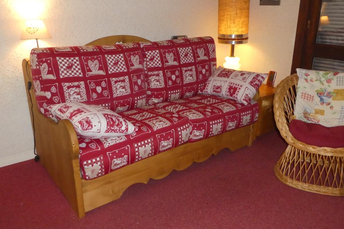 Location appartement 4 personnes à Méaudre dans le Vercors - Vue depuis l'entrée de l'appartement