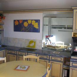 Studio à Alpe d'Huez-coin cuisine - Location de vacances - Alpe D'huez