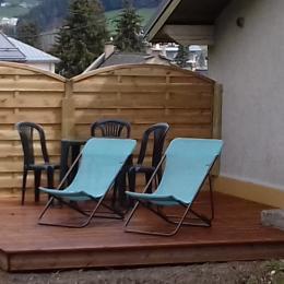 location appartement Meaudre Vercors - coin cuisine - Location de vacances - Méaudre