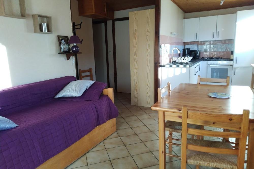 Séjour-cuisine . - Location de vacances - Autrans - Méaudre en Vercors
