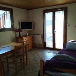 Salon .  - Location de vacances - Autrans - Méaudre en Vercors