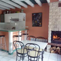 Cuisine-séjour - Location de vacances - Saint-Pierre-d'Entremont