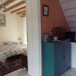 Accès à Chambre RDC (porte coulissante) - Location de vacances - Saint-Pierre-d'Entremont