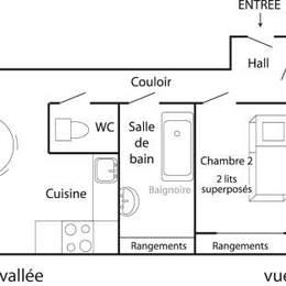 location : Appartement de 35 m² pour 4 personnes (Auris En Oisans - Parc des Ecrins) - Location de vacances - Auris En Oisans
