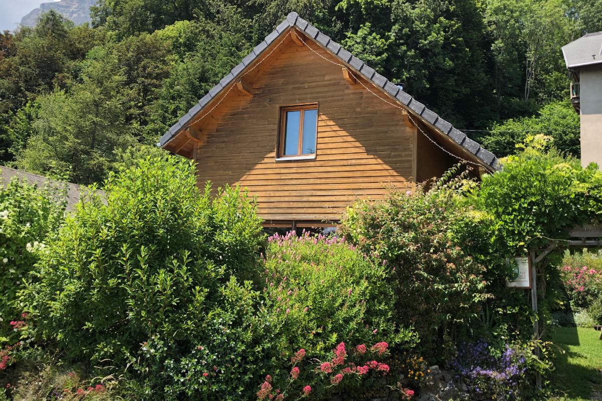 Chalet Glycine Eco Chic - Label Clefverte - Location de vacances - Plateau-des-Petites-Roches