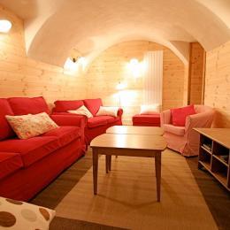 Location au calme le soir dans village authentique et ski la journée aux 2 Alpes - coin salon - Location de vacances - Vénosc