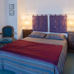 Chambre donnant sur terrasse - Location de vacances - Grenoble
