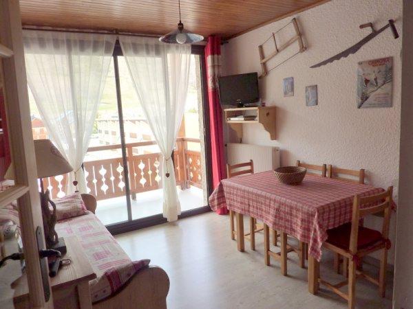 Appartement 2 pièces entièrement rénové, déco montagne, départ skis aux pieds 2 Alpes - Appartement EPERON B3-27 (Ambiance Montagne) - Location de vacances - les Deux Alpes