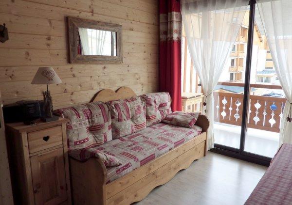 Appartement 2 pièces entièrement rénové, déco montagne, départ skis aux pieds 2 Alpes - Location de vacances - les Deux Alpes