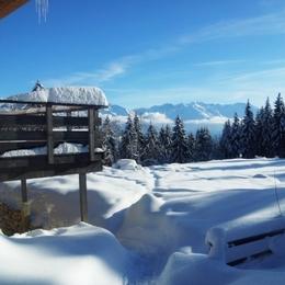 Envie d'évasion ? Le terrain de boules en hiver... - Location de vacances - Plateau-des-Petites-Roches