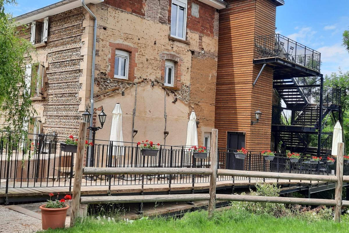 piscine biologique - Location de vacances - Ornacieux-Balbins