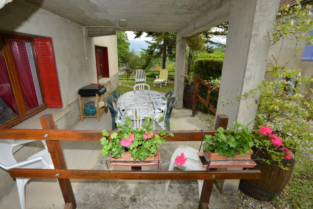 terrasse  - Location de vacances - Le Monestier-du-Percy