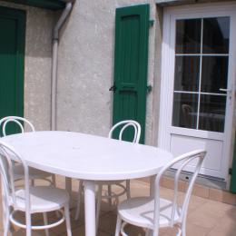 terrasse arrière maison - Location de vacances - Pontcharra