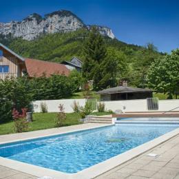 l'accès à la piscine du domaine - Location de vacances - Chapareillan