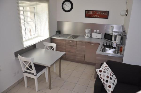 Joli appartement à Crémieu cité médiévale - 20 km aéroport Lyon St Exupéry - pièce de vie - Location de vacances - Crémieu