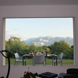 Calme de la campagne, proche lacs et montagnes, et ville (Gite à Voiron) - belle vue - Location de vacances - Voiron