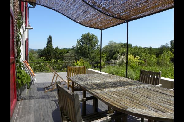 Terrasse - Location de vacances - Corbelin
