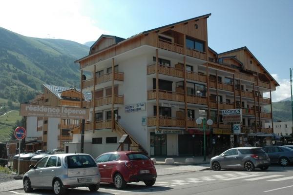 Vue hiver de la résidence - Location de vacances - les Deux Alpes