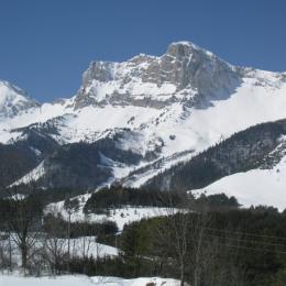 Gîte entre village et station de ski (Gresse en Vercors - Isère - massif du Vercors) - Location de vacances - Gresse-en-Vercors