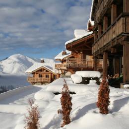 Trop beau, appartement grand capacité à louer dans un chalet aux 2 Alpes - Location de vacances - les Deux Alpes