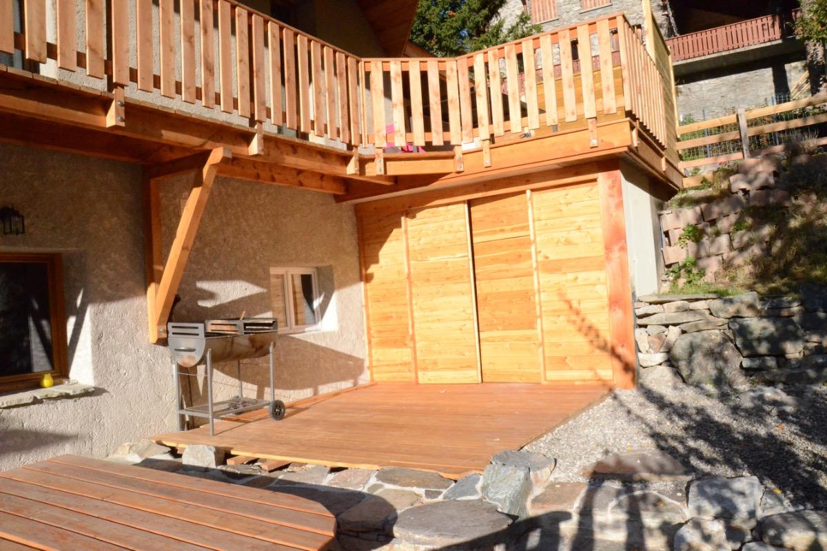 la fontaine en bas de l'escalier - Location de vacances - les Deux Alpes