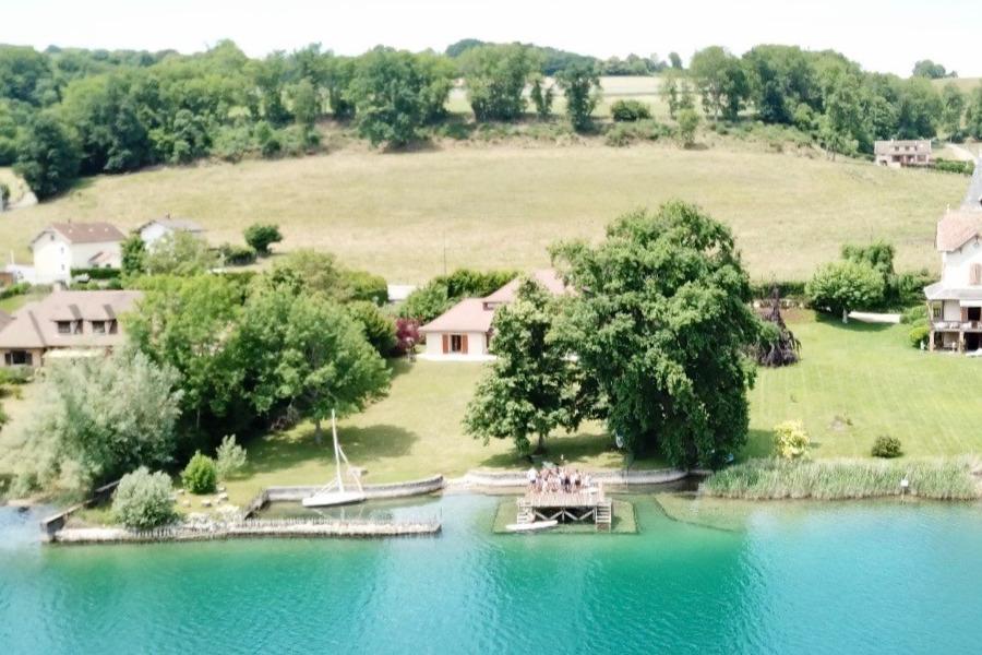 location : Maison pour 12 personnes (Isère - Paladru) groupe et famille - Location de vacances - Paladru