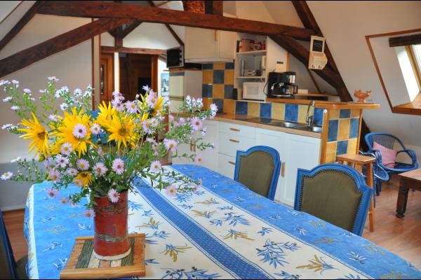 salon lumineux - Location de vacances - Saint-Mury-Monteymond