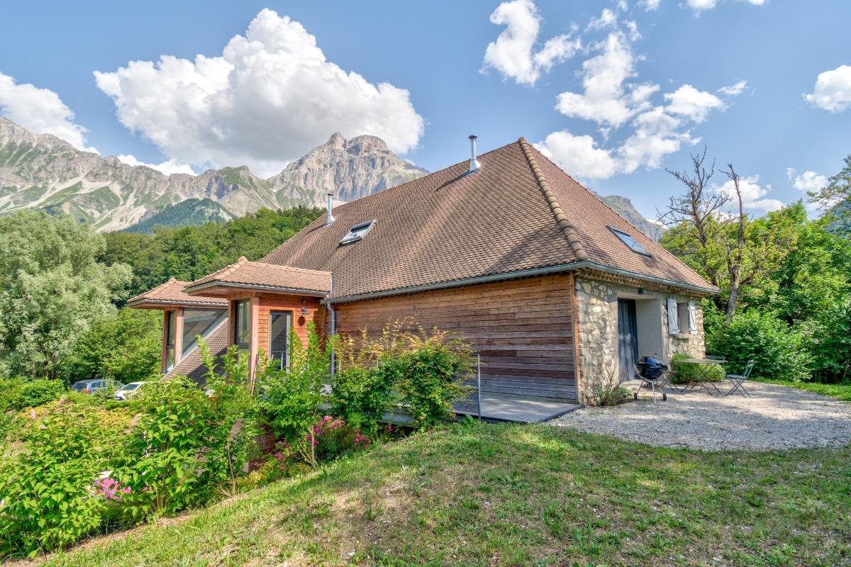 Les gîtes du Grand-Ferrand (Tréminis- Trièves-Isère) 14 personnes - Location de vacances - Tréminis