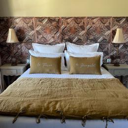 Chambres d'hôtes à 20 min de Lyon et 15 min de l'aéroport de Lyon - Chambre Vicomte - Chambres d'hôtes - Ferme de Gringalet - Chambre d'hôtes - Anthon