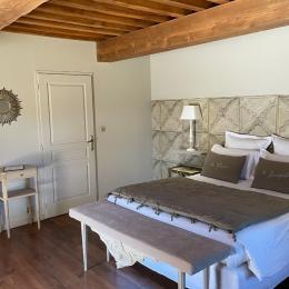Chambres d'hôtes dans un écrin de verdure à 20 min de Lyon - Chambre Cardinal - Ferme de Gringalet - Chambre d'hôtes - Anthon