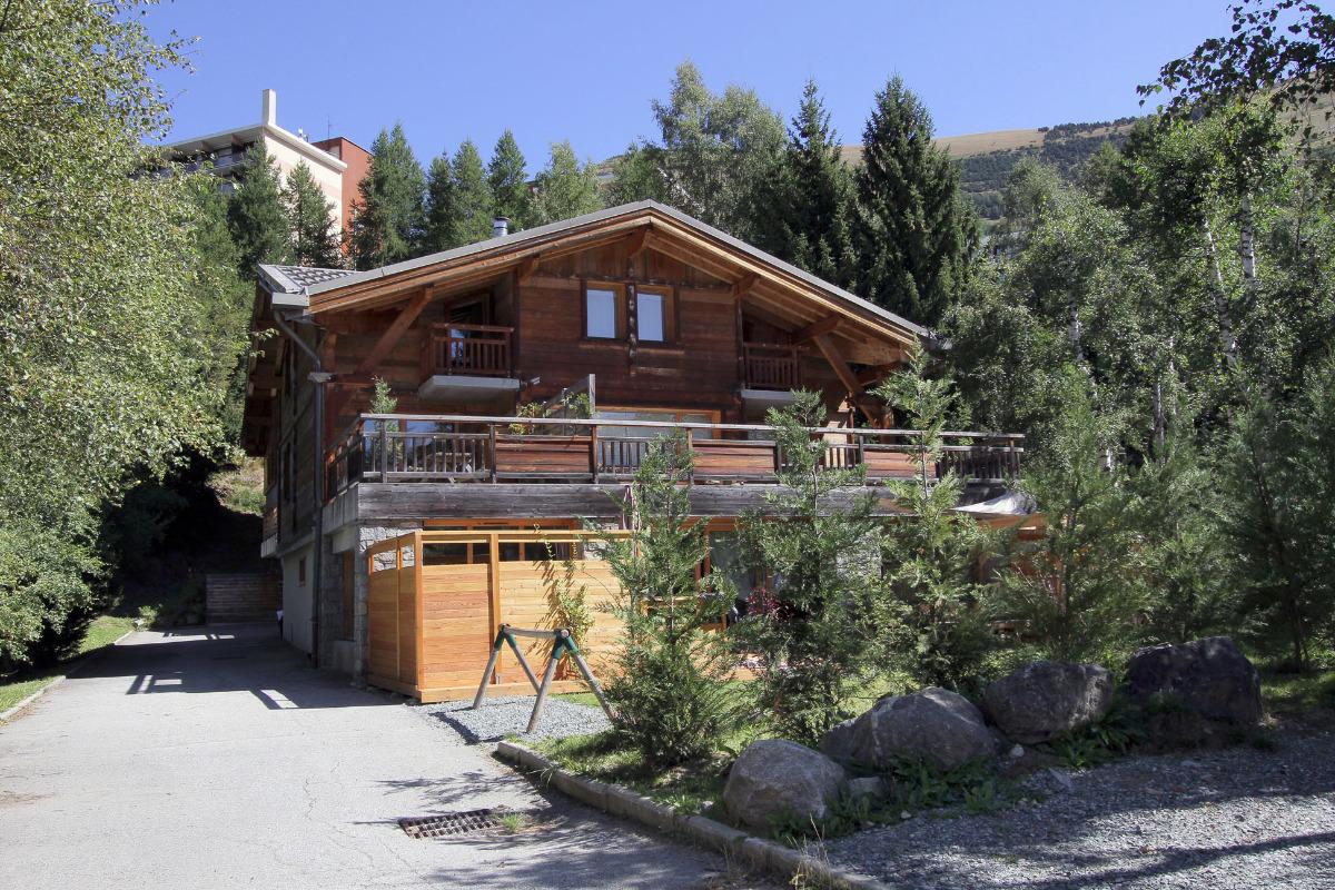 Chalet Chantelouve en été - Location de vacances - les Deux Alpes