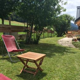 La terrasse - Location de vacances - Autrans - Méaudre en Vercors