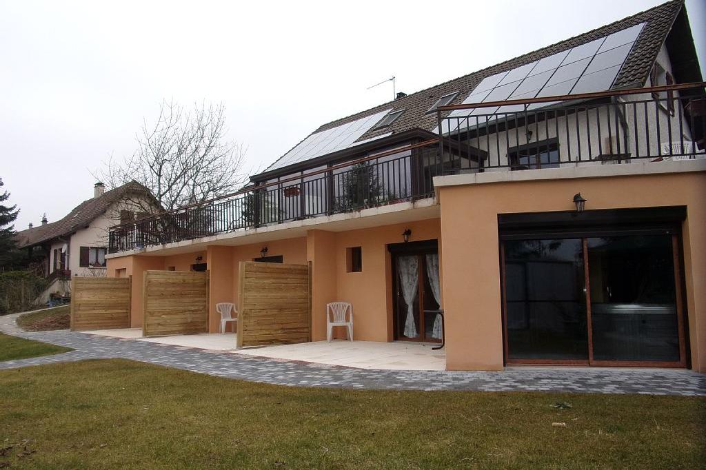 Chambres d'hôtes entre Lyon et Grenoble proche Bourgoin Jallieu  - Chambre d'hôtes - Meyrié
