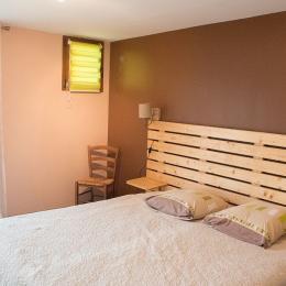 Chambres d'hôtes entre Lyon et Grenoble proche Bourgoin Jallieu - chambre avec 2 lits 1 personne jumelés - Chambre d'hôtes - Meyrié