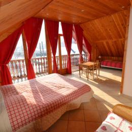 Chambre Sitelle - Chambres d'hôtes proche de l'Alpe d'Huez et des Deux Alpes - Chambre d'hôtes - Le Bourg-d'Oisans