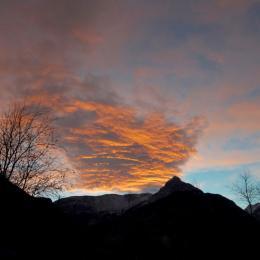 ciel du soir - Chambre d'hôtes - Le Bourg-d'Oisans