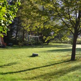 espaces de jeux au jardin - Chambre d'hôtes - Le Bourg-d'Oisans