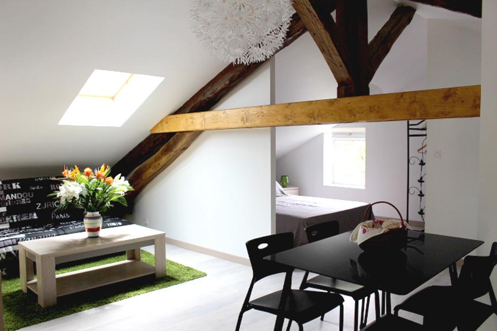 Chambre d'hôtes pour 4 personnes (Isère - Saint Jean le Vieux - Belledonne) - Chambre d'hôtes - Saint-Jean-le-Vieux